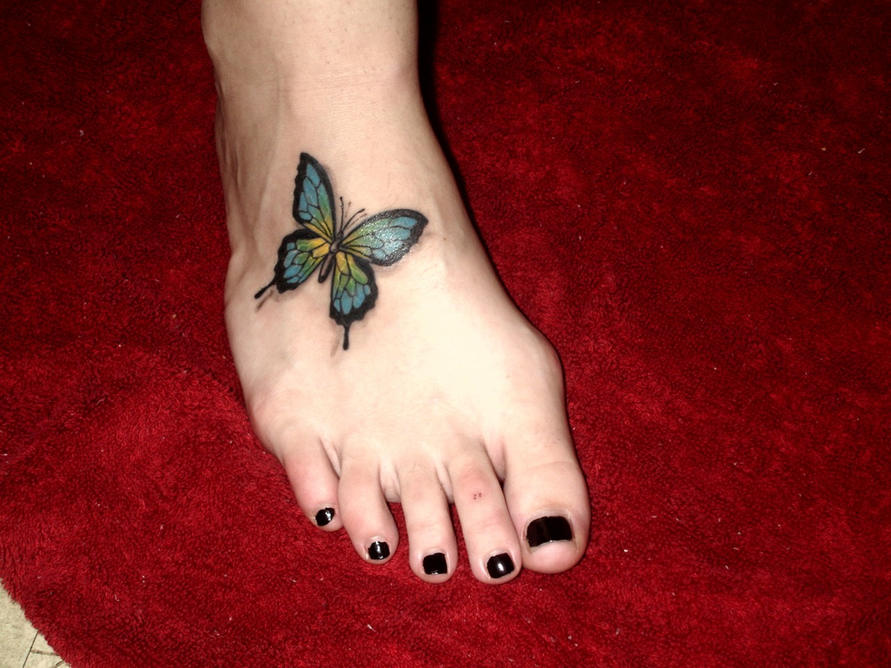 Beautiful Butterfly Tattoo Designs For Women
