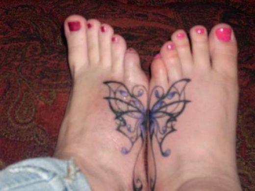 Best friend tattoo ideas on foot