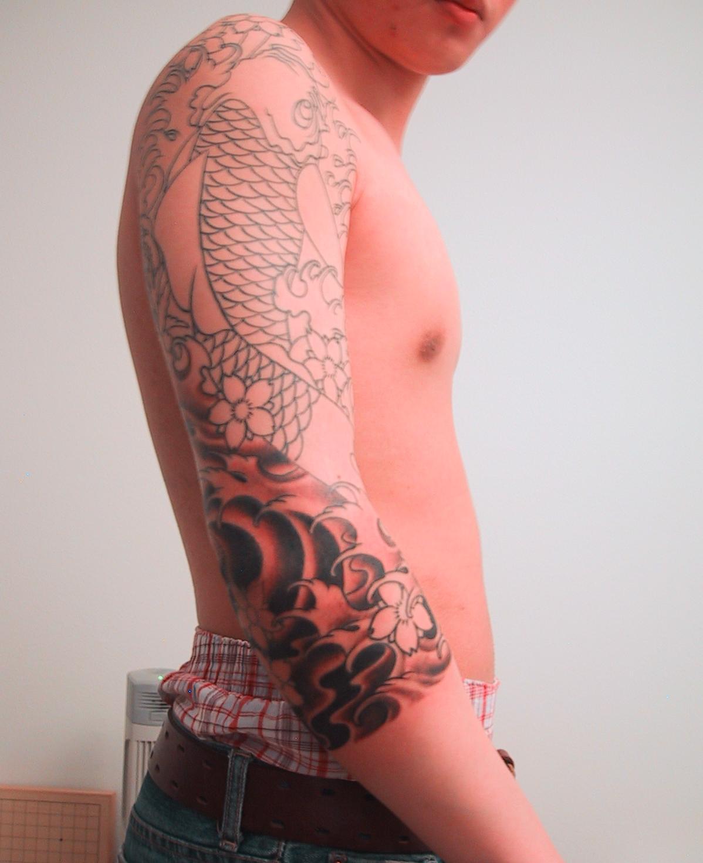Dark Full Sleeve Tattoos Full Sleeve Tattoo Designs