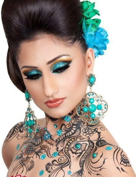Mehndi body art tattoos for Henna body tattoo