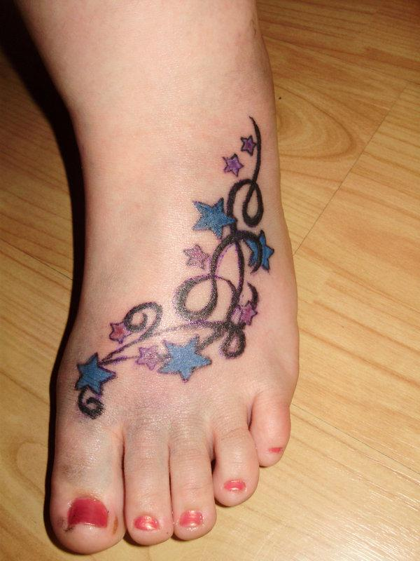 cute foot tattoos ideas. Black Bedroom Furniture Sets. Home Design Ideas