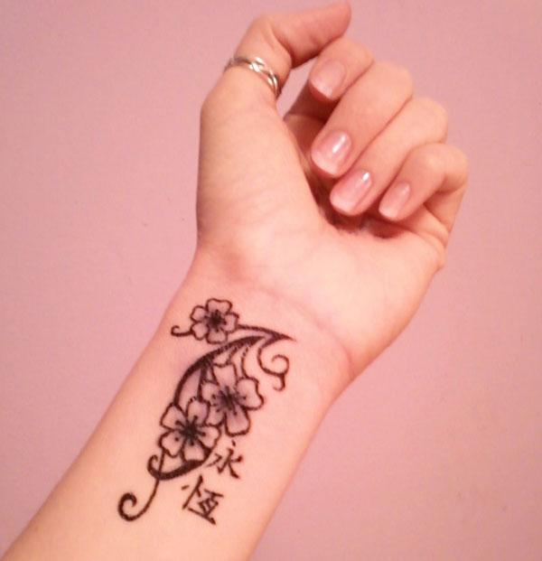 wrist tattoo designs, popular wrist tattoos, wrist tattoos ideas,wrist tattoo designs for women