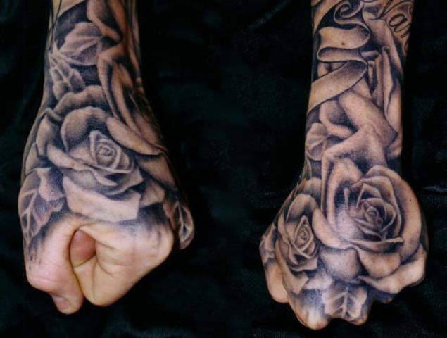 men flower tattoo designs male flower tattoos meanings. Black Bedroom Furniture Sets. Home Design Ideas