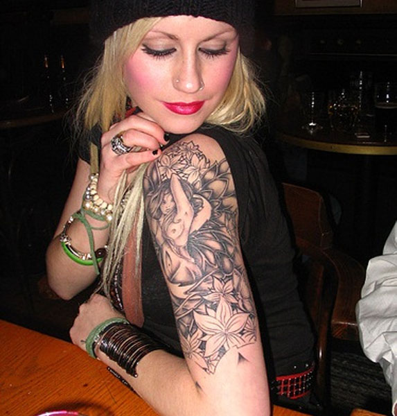 arm tattoo for women meaning pictures tattooing. Black Bedroom Furniture Sets. Home Design Ideas