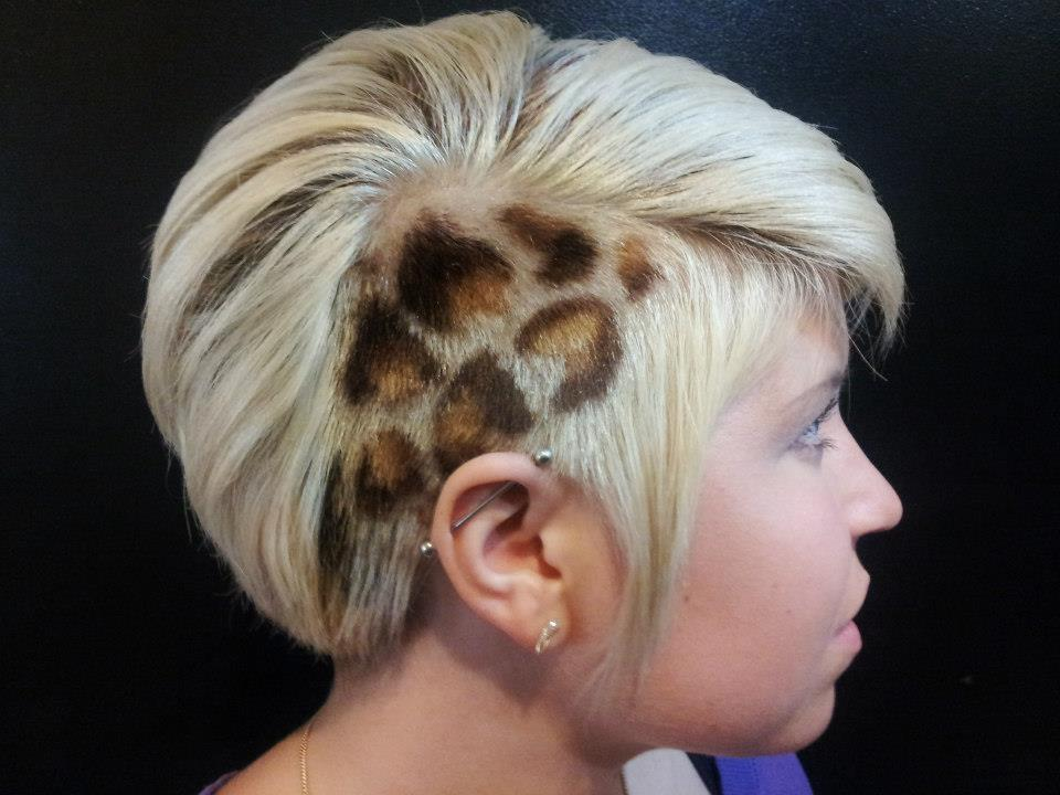 Crazy Hair Tattoo Design