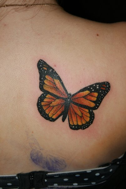 Monarch butterfly tattoo design meaning pictures for Images of butterfly tattoos
