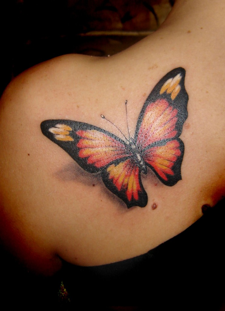 Monarch butterfly tattoo design meaning pictures for Butterfly tattoos gallery