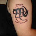 Zodiac Tattoo, Zodiac Tattoo on Foot, Zodiac Tattoo for Guys, Zodiac, Foot, Guys