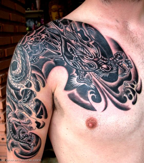 dragon dragon tattoo d...