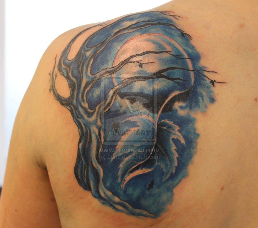 Moon tattoos moon tattoo meaning