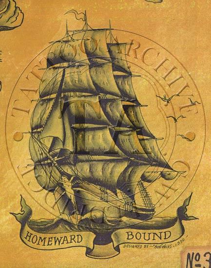 pirate ship tattoos. Black Bedroom Furniture Sets. Home Design Ideas