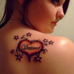 Star Heart Tattoos (2)