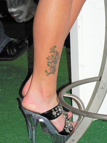 Women ankle tattoos for Finding the best female ankle tattoos