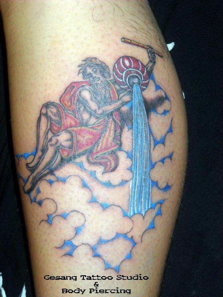 Aquarius Tattoo Tattoos Designs