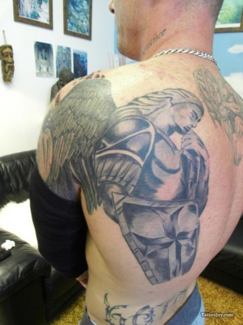 Armor tattoos for Armour of god tattoo