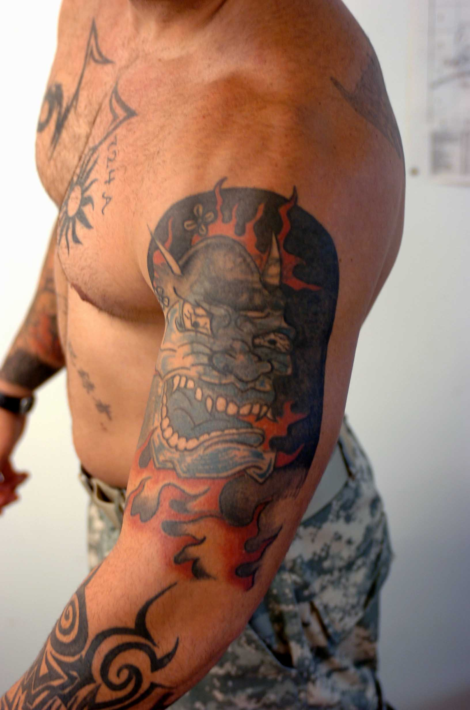 Military Designs For Tattoos