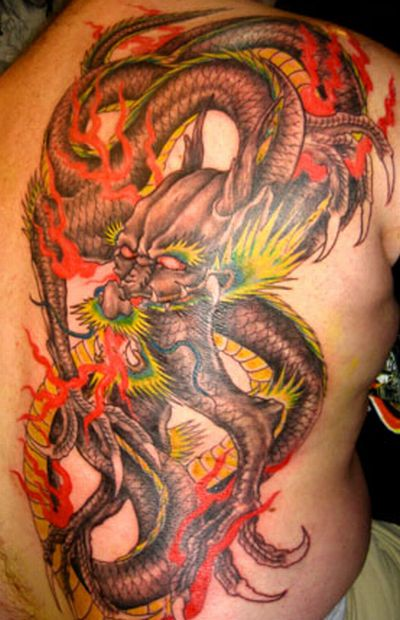 Asian dragon tatoos leace comments