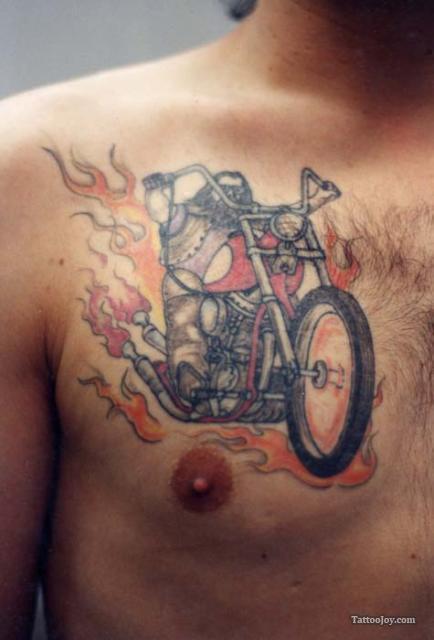 Tattoos, Biker Tatto
