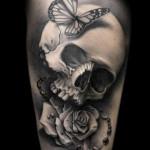 Girly-Butterfly-Skull-Tattoos-8