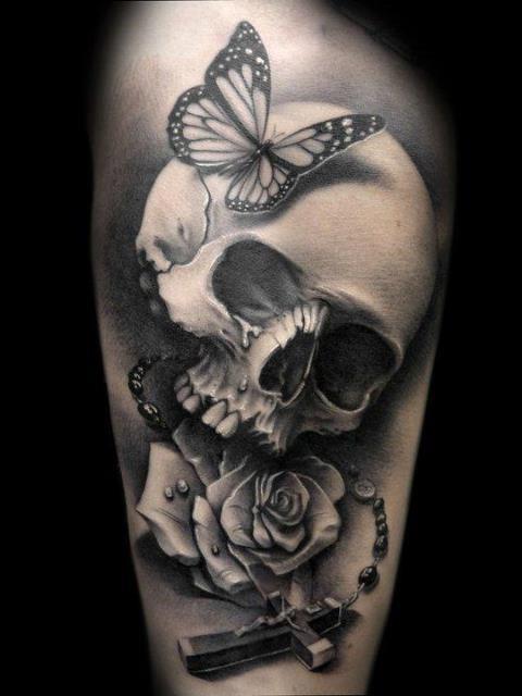 Girly skull tattoos designs videos
