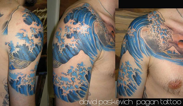Japanese Wave Tattoos