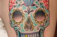Scarlett-Sugar-Skull-Tattoo-2