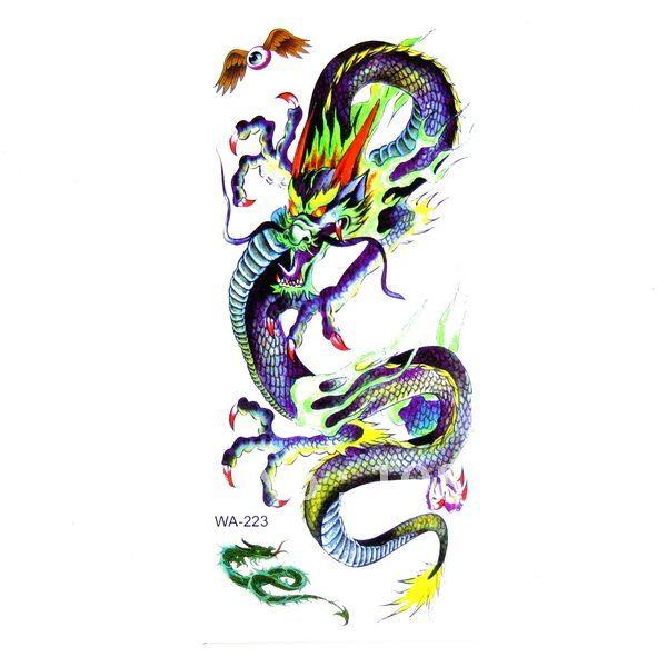 temporary dragon tattoos