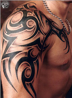 Tribal Body Tattoo For Women