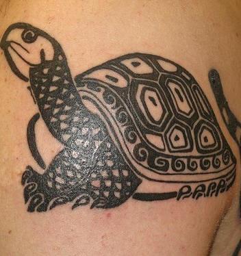 tribal tattoo turtle Turtle Tattoos Tribal