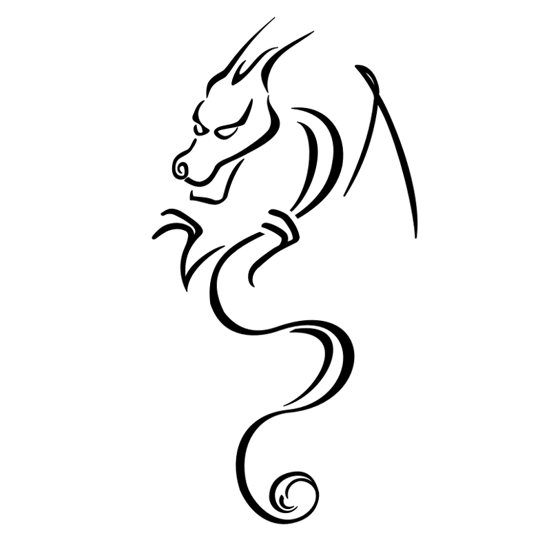 Simple Tattoo Outlines Designs For Men