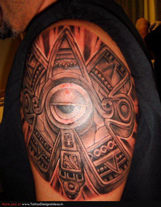 The gallery for aztec chicano tattoos for Mexican heritage tattoos
