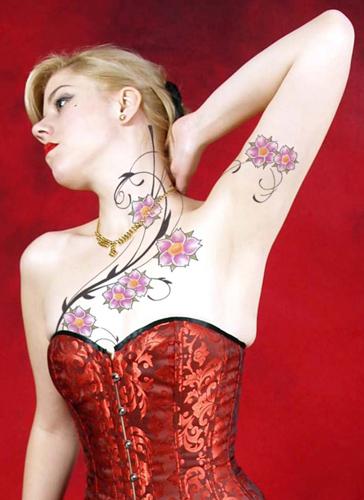 vine tattoo designs,vine tattoos meanings,vine tattoos for girls,vine flower tattoo designs,women vine tattoos ideas