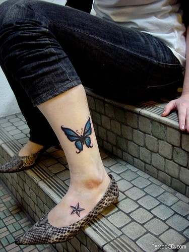 women butterfly tattoo,cute butterfly tattoos,cute butterfly tattoos images,women cute and sexy tattoos