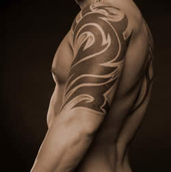 bicep tattoo designs for men,men bicep tattoos,men popular bicep tattoo designs,bicep tattoos ideas