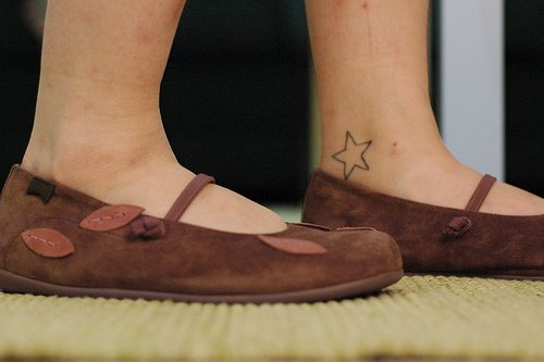 Some lovely ankle tattoos for women for Tattoos for ankles