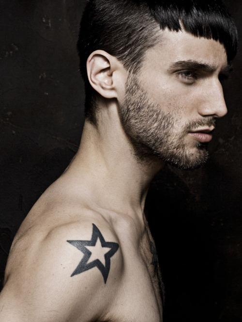 star tattoo designs for men. Black Bedroom Furniture Sets. Home Design Ideas