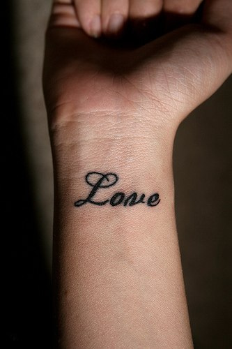 Sweet And Cute Wrist Tattoo Designs For Girls
