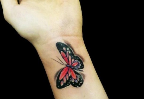 A Butterfly Tattoo on Wrist Gallary| Meaning| Tumblr