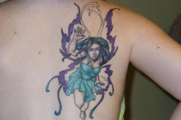 Angel butterfly tattoo pictures designs meaning for Ctrl tattoo meaning