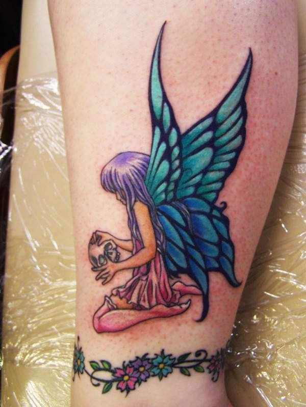 Angel butterfly tattoo pictures designs meaning for Butterfly tattoos gallery