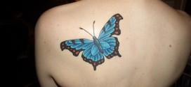 Butterfly tattoos on back Designs, tattoo designs, tattooing, tattoos, designs, piercing, ink, pictures, images, Butterfly tattoos on back