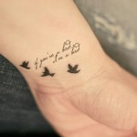 Cute Tattoo Quotes, tattoo designs, tattooing, tattoos, designs, piercing, ink, pictures, images, Cute Quotes