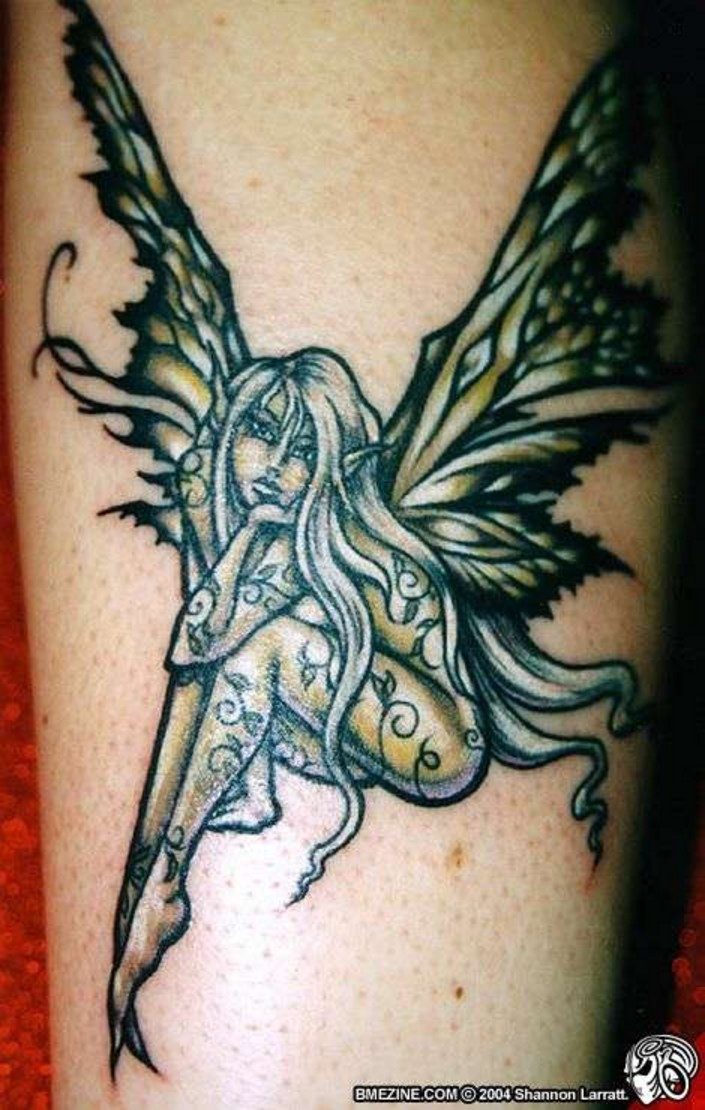 Fairy tattoo designs ideas picture gallery with meanings for Tattoo pitture