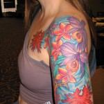 Flower Tattoo Designs, tattoo designs, tattooing, tattoos, designs, piercing, ink, pictures, images, Flower Tattoo