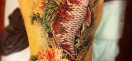Koi Tattoos, Koi Tattoo on Arm, Koi Fish Tattoo