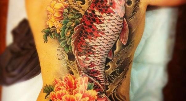 Koi Tattoos, Koi Tattoo on Arm, Koi Fish Tattoo