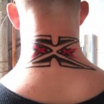 Neck Tattoo designs, tattoo designs, tattooing, tattoos, designs, piercing, ink, pictures, images, Neck