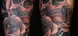 Sugar Skull Tattoo, Skull Tattoo, Skull tattoo for Guys