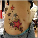 Stars Tattoo, Sooting Star, Historic Star, Pentagram, Hexagram,