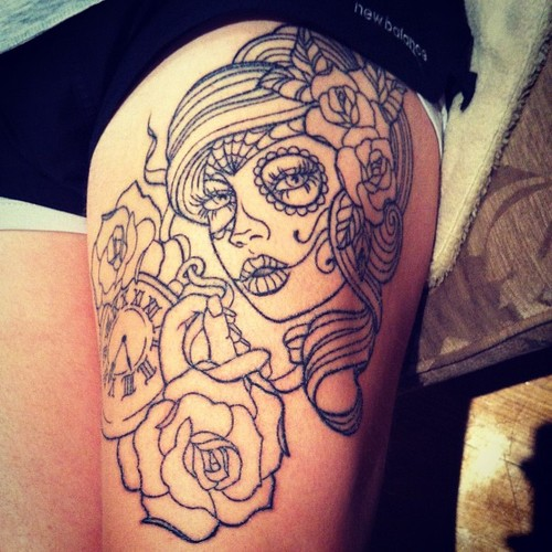 Tattoo Outline For Women Designs